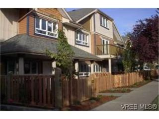 Photo 1: 4 860 Princess Ave in VICTORIA: Vi Central Park Row/Townhouse for sale (Victoria)  : MLS®# 313529