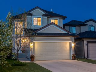 Main Photo: 2045 Bridlemeadows Manor SW in Calgary: Bridlewood House for sale