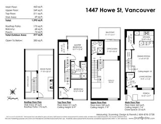 Photo 20: 1447 HOWE STREET in Vancouver: Yaletown Townhouse for sale (Vancouver West)  : MLS®# R2281638