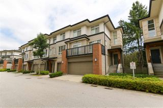 "Photo 1: 55 1125 KENSAL Place in Coquitlam: New Horizons Townhouse for sale in ""Kensal Walk"" : MLS®# R2395760"