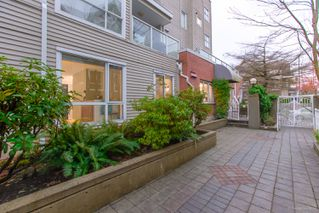 "Photo 11: 101 789 W 16TH Avenue in Vancouver: Fairview VW Condo for sale in ""Sixteen Willows"" (Vancouver West)  : MLS®# R2423292"