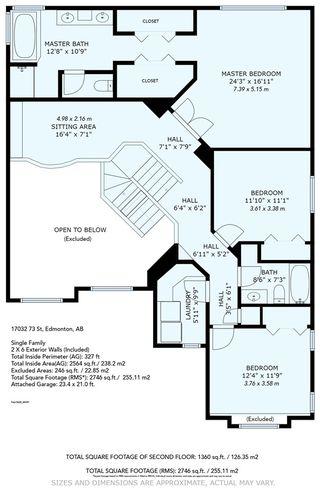 Photo 49: 17032 73 Street in Edmonton: Zone 28 House for sale : MLS®# E4195494