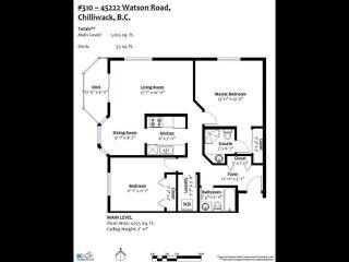 "Photo 18: 310 45222 WATSON Road in Chilliwack: Vedder S Watson-Promontory Condo for sale in ""WESTWIND"" (Sardis)  : MLS®# R2500192"