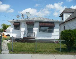Photo 1: 1127 ALFRED AV in WINNIPEG: Residential for sale (Canada)  : MLS®# 2912755
