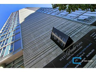 Photo 1: # 601 1499 W PENDER ST in Vancouver: Coal Harbour Condo for sale (Vancouver West)  : MLS®# V1048656