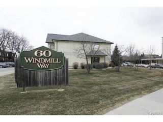 Main Photo: 104 60 Windmill Way in Winnipeg: Condominium for sale : MLS®# 1307477