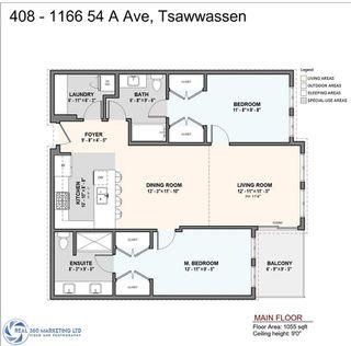 Photo 2: 408 1166 54A STREET in Delta: Tsawwassen Central Condo for sale (Tsawwassen)  : MLS®# R2506393