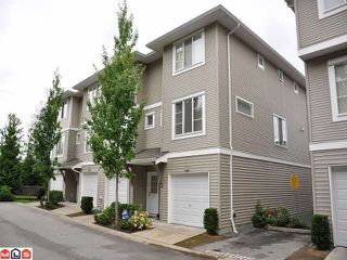 "Photo 1: 67 15155 62A Avenue in Surrey: Sullivan Station Townhouse for sale in ""THE OAKLANDS"" : MLS®# F1218827"
