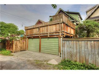 Photo 20: 2639 CAROLINA ST in Vancouver: Mount Pleasant VE House for sale (Vancouver East)  : MLS®# V1062319
