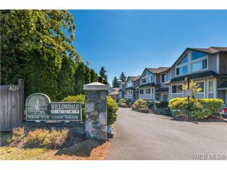 Photo 1: 2 4619 Elk Lake Drive in VICTORIA: SW Royal Oak Townhouse for sale (Saanich West)  : MLS®# 340797