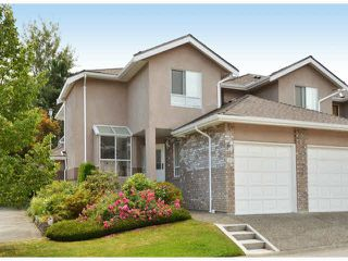 """Photo 1: 146 15550 26TH Avenue in Surrey: King George Corridor Townhouse for sale in """"Sunnyside Gate"""" (South Surrey White Rock)  : MLS®# F1419157"""