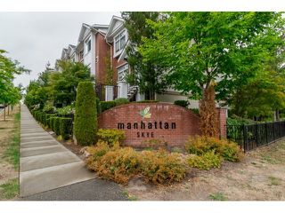 Photo 2: # 16 19551 66TH AV in Surrey: Clayton Townhouse for sale (Cloverdale)  : MLS®# F1449925