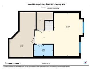 Photo 27: 1604 881 Sage Valley Boulevard NW in Calgary: Sage Hill Row/Townhouse for sale : MLS®# A1032743