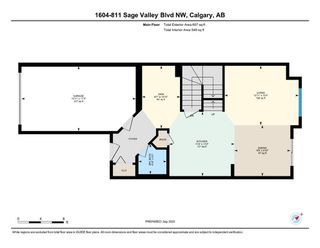 Photo 25: 1604 881 Sage Valley Boulevard NW in Calgary: Sage Hill Row/Townhouse for sale : MLS®# A1032743