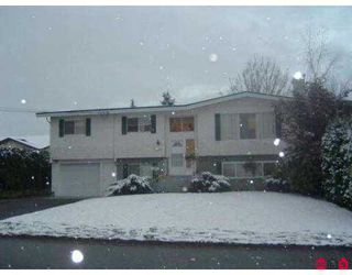 "Photo 1: 46154 CLARE AV in Chilliwack: Fairfield Island House for sale in ""FAIRFIELD ISLAND"" : MLS®# H2504230"