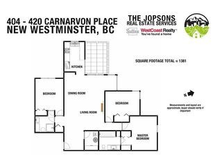 "Photo 18: 404 420 CARNARVON Street in New Westminster: Downtown NW Condo for sale in ""Carnarvon Place"" : MLS®# V1081366"
