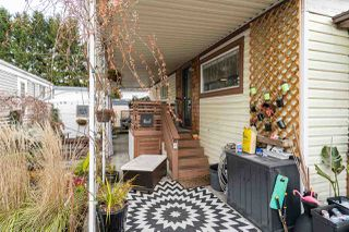 Photo 1: 216 201 CAYER Street in Coquitlam: Central Coquitlam Manufactured Home for sale : MLS®# R2420709