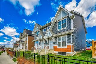 Main Photo: 496 Auburn Bay Avenue SE in Calgary: Auburn Bay Semi Detached for sale : MLS®# C4296429
