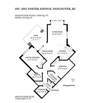 """Photo 27: 107 3551 FOSTER Avenue in Vancouver: Collingwood VE Condo for sale in """"FINALE WEST"""" (Vancouver East)  : MLS®# R2499336"""