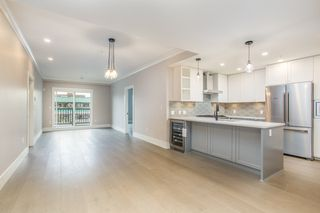 "Photo 1: 206 3755 CHATHAM Street in Richmond: Steveston Village Condo for sale in ""CHATHAM 3755"" : MLS®# R2447492"
