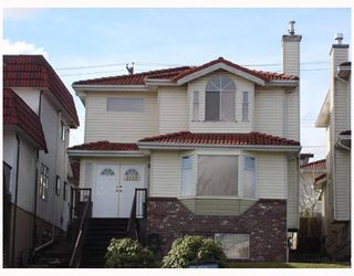 Photo 1: 2115 RUPERT Street in Vancouver: Renfrew VE House for sale (Vancouver East)  : MLS®# V747891