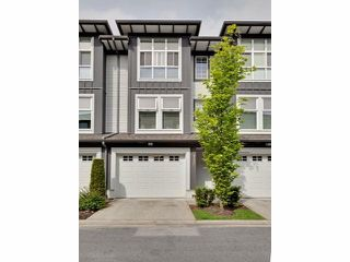 "Photo 1: 112 18777 68A Avenue in Surrey: Clayton Townhouse for sale in ""COMPASS"" (Cloverdale)  : MLS®# F1312548"