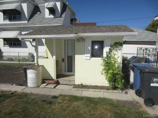 Photo 16: 244 Parr Street in WINNIPEG: North End Residential for sale (North West Winnipeg)  : MLS®# 1320450