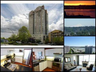 Photo 1: 1802 10 LAGUNA COURT in New Westminster: Quay Condo for sale : MLS®# R2067564
