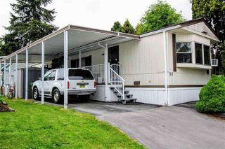 "Photo 1: 67 7790 KING GEORGE Boulevard in Surrey: East Newton Manufactured Home for sale in ""Crispen Bays"" : MLS®# R2439850"