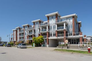 "Photo 1: 408 4111 BAYVIEW Street in Richmond: Steveston South Condo for sale in ""THE VILLAGE"" : MLS®# R2455137"