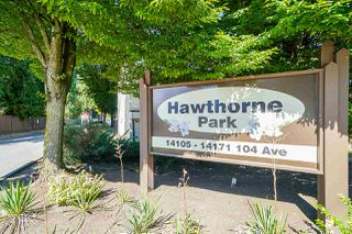 "Photo 1: 37 14111 104 Avenue in Surrey: Whalley Townhouse for sale in ""HAWTHORNE PARK"" (North Surrey)  : MLS®# R2488903"