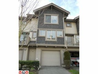 """Photo 1: 66 20761 DUNCAN Way in Langley: Langley City Townhouse for sale in """"WYNDHAM LANE"""" : MLS®# F1202763"""