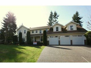 "Photo 1: 2669 171ST Street in Surrey: Grandview Surrey House for sale in ""HAZELMERE"" (South Surrey White Rock)  : MLS®# F1306302"