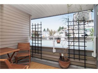"""Photo 7: 307 3709 PENDER Street in Burnaby: Willingdon Heights Townhouse for sale in """"LEXINGTON NORTH"""" (Burnaby North)  : MLS®# V998412"""
