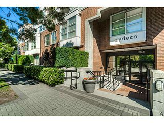"""Photo 1: 314 2768 CRANBERRY Drive in Vancouver: Kitsilano Condo for sale in """"ZYDECO"""" (Vancouver West)  : MLS®# V1083695"""