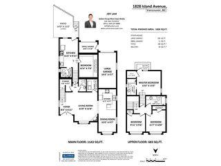 Photo 8: 1828 ISLAND AV in Vancouver: Fraserview VE House for sale (Vancouver East)  : MLS®# V1140847