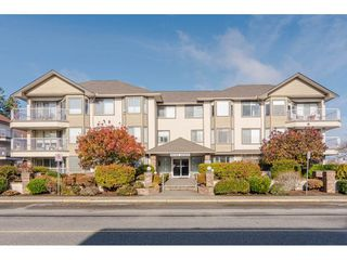 "Photo 1: 307 33401 MAYFAIR Avenue in Abbotsford: Central Abbotsford Condo for sale in ""Mayfair Gardens"" : MLS®# R2419451"