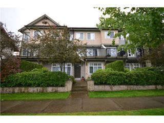 "Photo 1: 113 4238 ALBERT Street in Burnaby: Vancouver Heights Townhouse for sale in ""VILLAGIO ON THE HEIGHTS"" (Burnaby North)  : MLS®# V955533"