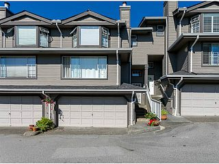 "Photo 1: 187 1140 CASTLE Crescent in Port Coquitlam: Citadel PQ Townhouse for sale in ""THE UPLANDS"" : MLS®# V1075113"