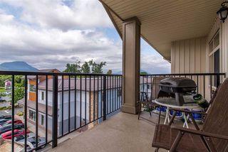 Photo 1: 410 45753 STEVENSON Road in Sardis: Sardis East Vedder Rd Condo for sale : MLS®# R2393866