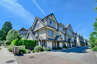 "Photo 1: 4 9391 ALBERTA Road in Richmond: McLennan North Townhouse for sale in ""WILD ROSE"" : MLS®# R2437720"