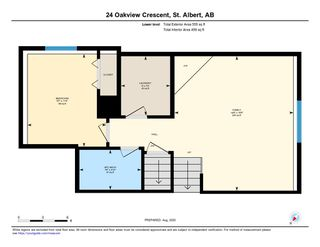 Photo 36: 24 Oakview Crescent: St. Albert House for sale : MLS®# E4210263