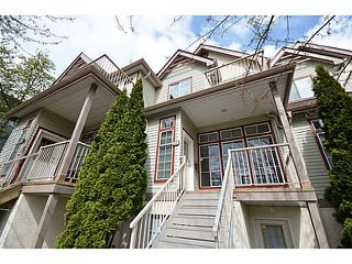 Photo 1: 1307 BRUNETTE AV in Coquitlam: Maillardville Townhouse for sale : MLS®# V1006092