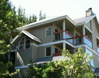 Main Photo: 23 2240 Gondola Way: Whistler Townhouse for sale : MLS®# v1009726
