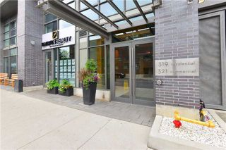Photo 1: 319 Carlaw Ave Unit #513 in Toronto: South Riverdale Condo for sale (Toronto E01)  : MLS®# E3557585