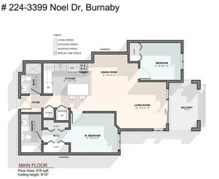 "Photo 20: 224 3399 NOEL Drive in Burnaby: Sullivan Heights Condo for sale in ""Cameron"" (Burnaby North)  : MLS®# R2424898"