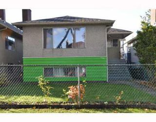 Photo 1: 4751 FLEMING ST in Vancouver: House for sale (Knight)  : MLS®# V795753