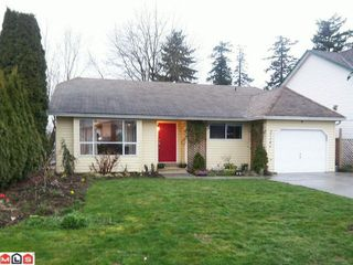 "Photo 1: 27146 33RD Avenue in Langley: Aldergrove Langley House for sale in ""PARKSIDE"" : MLS®# F1207490"