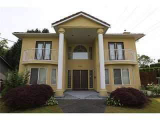 "Main Photo: 938 4TH ST in New Westminster: GlenBrooke North House for sale in ""GLENBROOKE AREA"" : MLS®# V1011649"