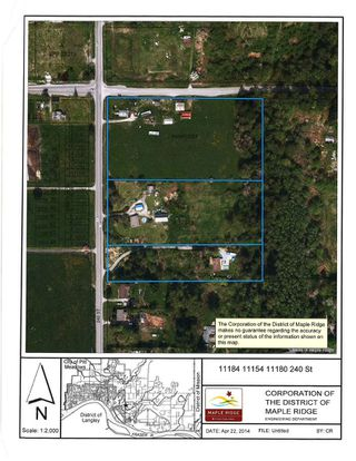 Photo 2: 11184/11154/11080 240th Street in Maple Ridge: Albion Land for sale